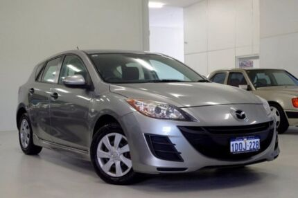 2010 Mazda 3 BL10F1 Maxx Activematic Grey 5 Speed Sports Automatic Hatchback Myaree Melville Area Preview