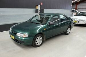1997 Nissan Pulsar N15 Plus Green 4 Speed Automatic Sedan Maryville Newcastle Area Preview