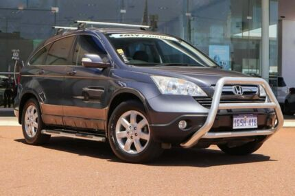 2009 Honda CR-V RE MY2007 Luxury 4WD Sparkle Grey 5 Speed Automatic Wagon Osborne Park Stirling Area Preview