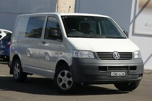 2007 Volkswagen Transporter T5 MY07 Crewvan (LWB) White 6 Speed Manual Van Dee Why Manly Area Preview