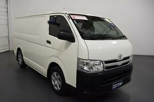 2012 Toyota Hiace KDH201R MY12 Upgrade LWB White 4 Speed Automatic Van Moorabbin Kingston Area Preview