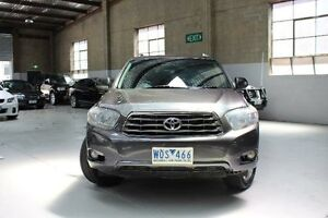 2008 Toyota Kluger GSU40R KX-S Grey Sports Automatic Wagon Knoxfield Knox Area Preview