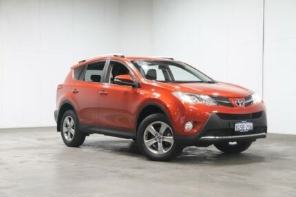 2015 Toyota RAV4 ASA44R MY14 GXL AWD Burnt Orange 6 Speed Sports Automatic Wagon Welshpool Canning Area Preview