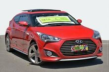 2013 Hyundai Veloster FS2 SR Coupe Turbo Red 6 Speed Sports Automatic Hatchback Coolangatta Gold Coast South Preview