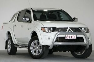2011 Mitsubishi Triton MN MY11 GLX-R (4x4) White 5 Speed Manual 4x4 Dual Cab Utility Coopers Plains Brisbane South West Preview