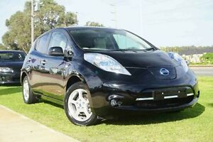 2013 Nissan Leaf ZE0 Eclipse Black 1 Speed Automatic Hatchback Wangara Wanneroo Area Preview