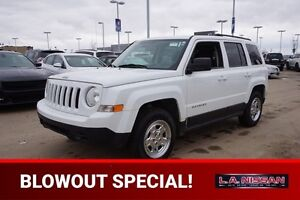 2012 Jeep Patriot NORTH EDITION Accident Free,  A/C,