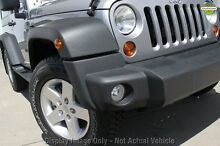 2012 Jeep Wrangler JK MY2012 Sport Silver 6 Speed Manual Softtop Wangara Wanneroo Area Preview