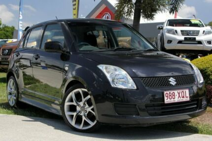 2008 Suzuki Swift RS415 GLX Black 5 Speed Manual Hatchback