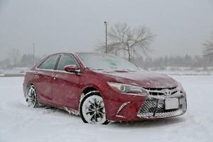 2007-2017 Toyota Camry Snow Tire Packages starting at $682 - P 215/60/16 and P 215/55/17 Winter Tires installed