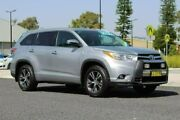 2016 Toyota Kluger GSU55R GXL (4x4) Silver 6 Speed Automatic Wagon Port Macquarie Port Macquarie City Preview