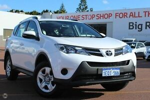 2014 Toyota RAV4 ZSA42R MY14 GX 2WD White 7 Speed Constant Variable Wagon Westminster Stirling Area Preview
