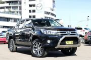 2015 Toyota Hilux GUN126R SR5 Double Cab Black 6 Speed Sports Automatic Utility Liverpool Liverpool Area Preview