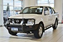 2011 Nissan Navara D40 ST (4x4) White 5 Speed Automatic Dual Cab Pick-up Morley Bayswater Area Preview