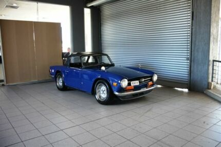 1974 Triumph TR 6 Blue 4 Speed Manual Sports Thornleigh Hornsby Area Preview
