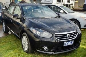 2014 Renault Fluence X38 Phase 2 Dynamique Black 6 Speed Constant Variable Sedan Lake Wendouree Ballarat City Preview