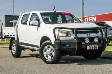 2012 Holden Colorado RG MY13 LX Crew Cab White 5 Speed Manual Utility Rockingham Rockingham Area Preview