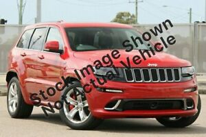 2013 Jeep Grand Cherokee WK MY2014 SRT White 8 Speed Sports Automatic Wagon Medindie Walkerville Area Preview