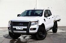 2013 Ford Ranger PX XL Double Cab White 6 Speed Sports Automatic Utility Frankston Frankston Area Preview