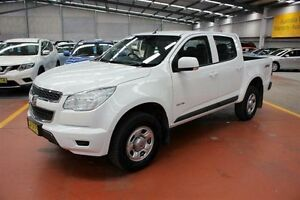 2014 Holden Colorado RG MY14 LX Crew Cab White 6 Speed Manual Utility Maryville Newcastle Area Preview