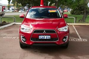 2016 Mitsubishi ASX XB MY15.5 LS 2WD Red 6 Speed Constant Variable Wagon Wilson Canning Area Preview