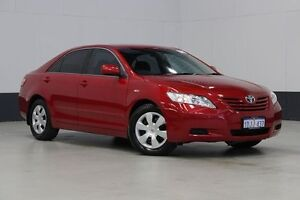 2009 Toyota Camry ACV40R 07 Upgrade Altise Red 5 Speed Automatic Sedan Bentley Canning Area Preview