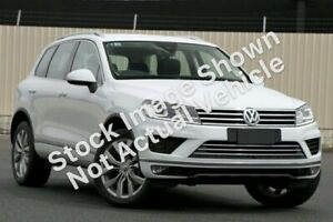 2018 Volkswagen Touareg 7P MY18 V6 TDI Tiptronic 4MOTION White 8 Speed Sports Automatic Wagon South Melbourne Port Phillip Preview