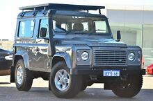 2013 Land Rover Defender 90 13MY Grey 6 Speed Manual Wagon Osborne Park Stirling Area Preview