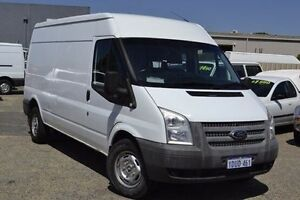 2011 Ford Transit VM 350 Mid Roof LWB White 6 Speed Manual Van Pearsall Wanneroo Area Preview