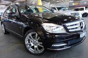 2010 Mercedes-Benz C250 CGI W204 MY10 Avantgarde Black 5 Speed Sports Automatic Sedan Port Melbourne Port Phillip Preview