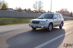 2000 forester st/b RHD - All stock, Very low Kms, fresh safety
