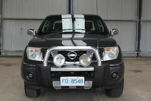 2007 Nissan Navara D40 ST-X Grey 5 Speed Automatic Utility Invermay Launceston Area Preview