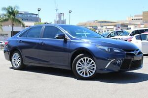 2015 Toyota Camry AVV50R Atara SL Indigo 1 Speed Constant Variable Sedan Northbridge Perth City Area Preview