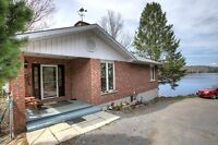 WATERFRONT BRICK BUNGALOW HOME OR COTTAGE NEAR BANCROFT, ON