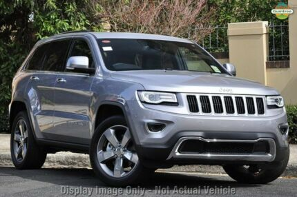 2014 Jeep Grand Cherokee WK MY15 Limited Billet Silver 8 Speed Sports Automatic Wagon Chatswood West Willoughby Area Preview