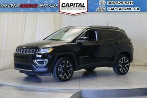 2017 Jeep Compass Limited 4WD*4X4*Leather*Sunroof*