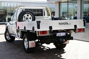 2014 Toyota Landcruiser VDJ79R GXL White 5 Speed Manual Cab Chassis Osborne Park Stirling Area Preview
