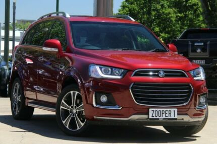 2017 Holden Captiva CG MY18 LTZ AWD Red 6 Speed Sports Automatic Wagon East Toowoomba Toowoomba City Preview