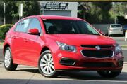 2016 Holden Cruze JH Series II MY16 Equipe Red 6 Speed Sports Automatic Hatchback Braybrook Maribyrnong Area Preview