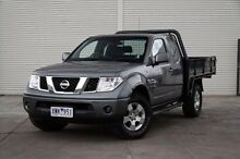 2010 Nissan Navara  Grey Manual Cab Chassis Cranbourne Casey Area Preview
