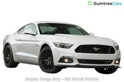 2017 Ford Mustang FM MY17 GT Fastback White Platinum 6 Speed Manual Fastback Mount Pleasant Mackay City Preview