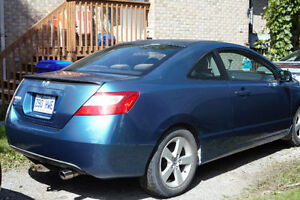 2007 Honda Civic LX Coupe (2 door) with Low km