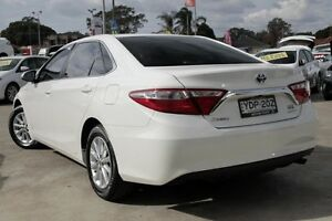 2015 Toyota Camry AVV50R MY15 Altise Hybrid White Continuous Variable Sedan Old Guildford Fairfield Area Preview