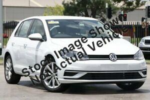 2019 Volkswagen Golf 7.5 MY19.5 110TSI DSG Comfortline Pure White 7 Speed