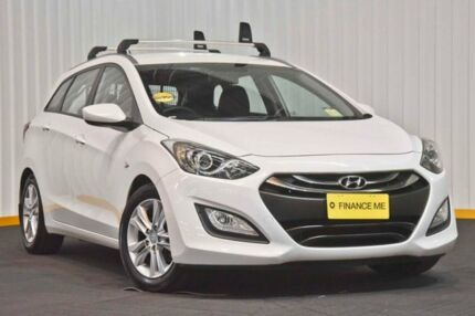 2014 Hyundai i30 GD Active Tourer White 6 Speed Sports Automatic Wagon Seven Hills Blacktown Area Preview