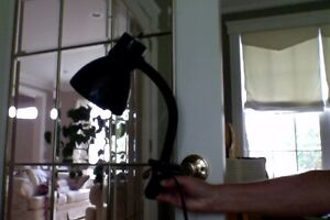 CLIP ON DESK LAMP ~ GREAT FOR STUDENTS