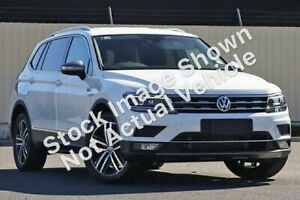 2018 Volkswagen Tiguan 5NA MY18 Allspace 140 TDI Highline Pure White 7 Speed Auto Direct Shift Wagon Cooee Burnie Area Preview