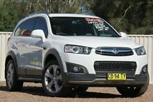 2014 Holden Captiva CG MY14 White 6 Speed Sports Automatic Wagon Tuggerah Wyong Area Preview