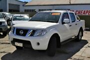 2012 Nissan Navara D40 ST-X White 5 Speed Automatic Utility Redan Ballarat City Preview