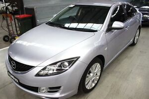 2008 Mazda 6 GH1051 Classic Silver 5 Speed Sports Automatic Hatchback Maryville Newcastle Area Preview